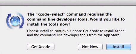 xcode select xcode select